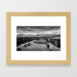 Iceland_Steel Framed Art Print