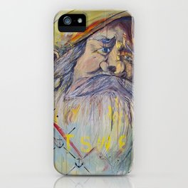 The Captain on Jonah's Boat iPhone Case