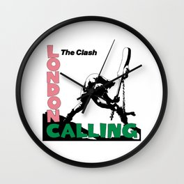Theclash Londoncalling Wall Clock