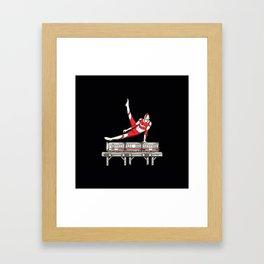 tokyo pommel Framed Art Print