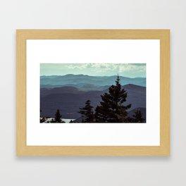 Adirondack Bliss Framed Art Print