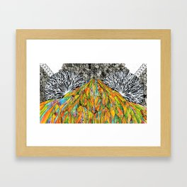"It's Called ""Moon"" Framed Art Print"