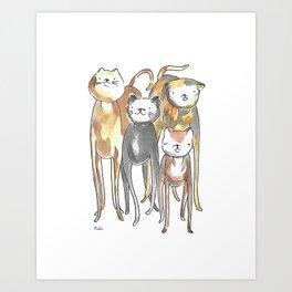 The Gang Art Print