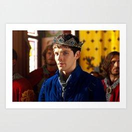 Prince Merlin Art Print