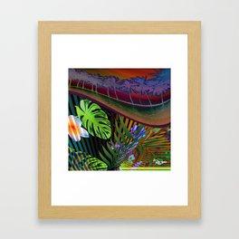 Island Wave by Kenny Rego Framed Art Print