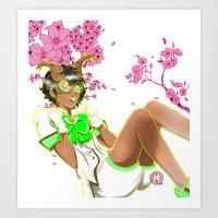 Wood Fairy Art Print