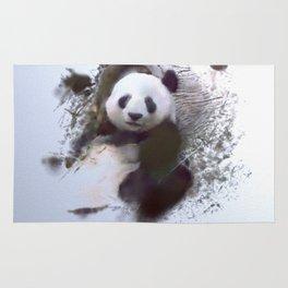 Animals And Art   Panda Rug
