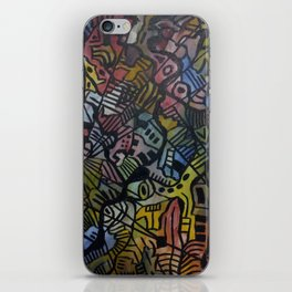 Space Time iPhone Skin
