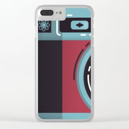Little Yashica Camera Clear iPhone Case
