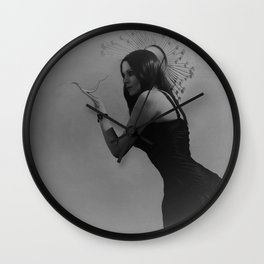 """""""Self Inflicted"""" Wall Clock"""