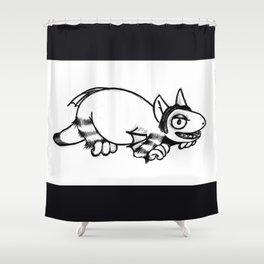 Little Monster Shower Curtain
