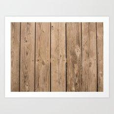 Wood I Art Print