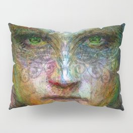 Tribal girl Pillow Sham