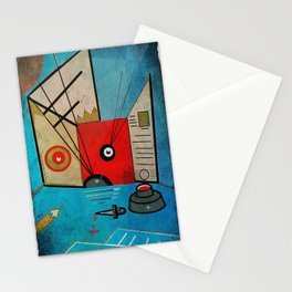 Cat, Art & Ink Stationery Cards