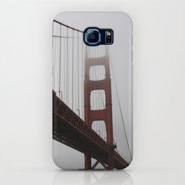 Golden Gate in Fog iPhone Case