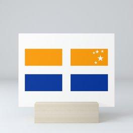 Flag of Isles of Scilly Mini Art Print