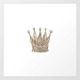 Royal Crown Art Print