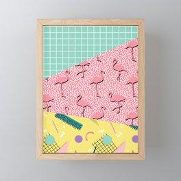 Dreaming 80s #society6 #decor #buyart Framed Mini Art Print
