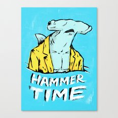 Hammer Time Canvas Print