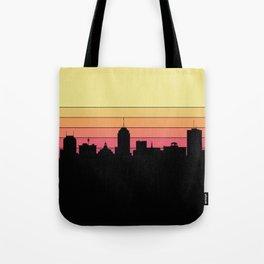 Fresno Skyline Tote Bag