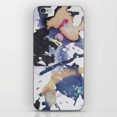 #1 Blue iPhone Skin