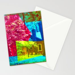 Cabin Trip Stationery Cards