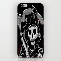sons of anarchy iPhone & iPod Skins featuring Sons Of Anarchy (Reaper) by ItalianRicanArt