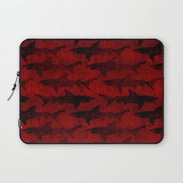 Blood Red Sharks Laptop Sleeve