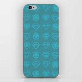 DIAMANTES iPhone Skin