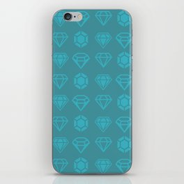 DIAMANTES iPhone Skin