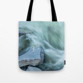 Marble River Run Tote Bag