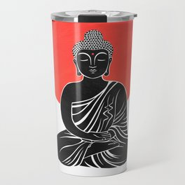 buddha meditation Travel Mug