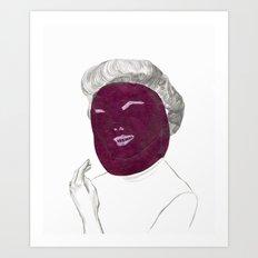 60's actress Art Print