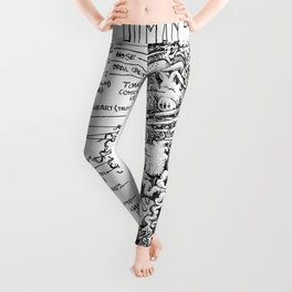 THE ENTIRE HUMAN BOD. Leggings
