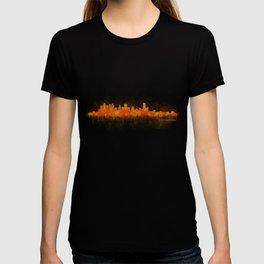 Houston City Skyline Hq v3 T-shirt
