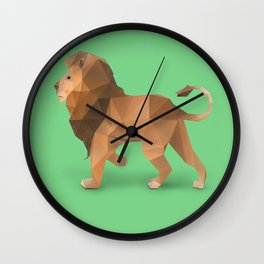 Lion. Wall Clock