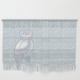 Winter Owl Wall Hanging