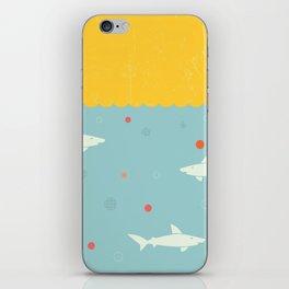 School of Sharks iPhone Skin