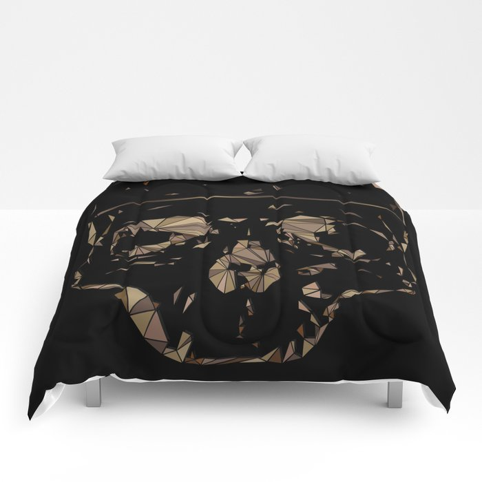 Lady Day Homage (Multifaceted Billie Holiday) Comforters