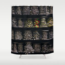 All The Jewels Shower Curtain