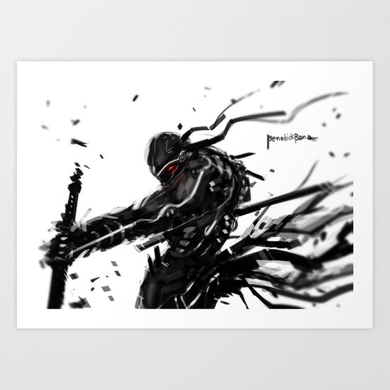 Dance with the Blade Art Print