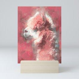 Yina Pink Mini Art Print