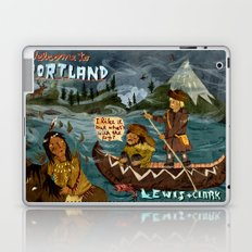 Postcard from Lewis + Clark Laptop & iPad Skin