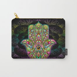 Hamsa Hand Amulet Psychedelic Carry-All Pouch