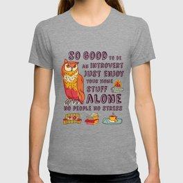 Happy introvert T-shirt