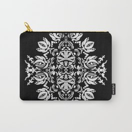 Abstract Flora Carry-All Pouch