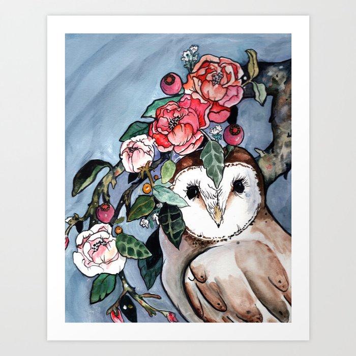 Flora And Fauna Art Print By Hannahgraff Society6