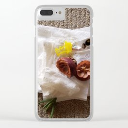 Trashthetic Clear iPhone Case