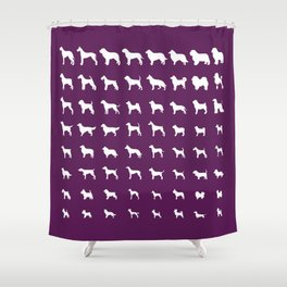 Sheltie Shower Curtains Society6