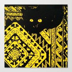 Kuro Canvas Print